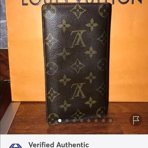Authentic Louis Vuitton Checkbook Cover